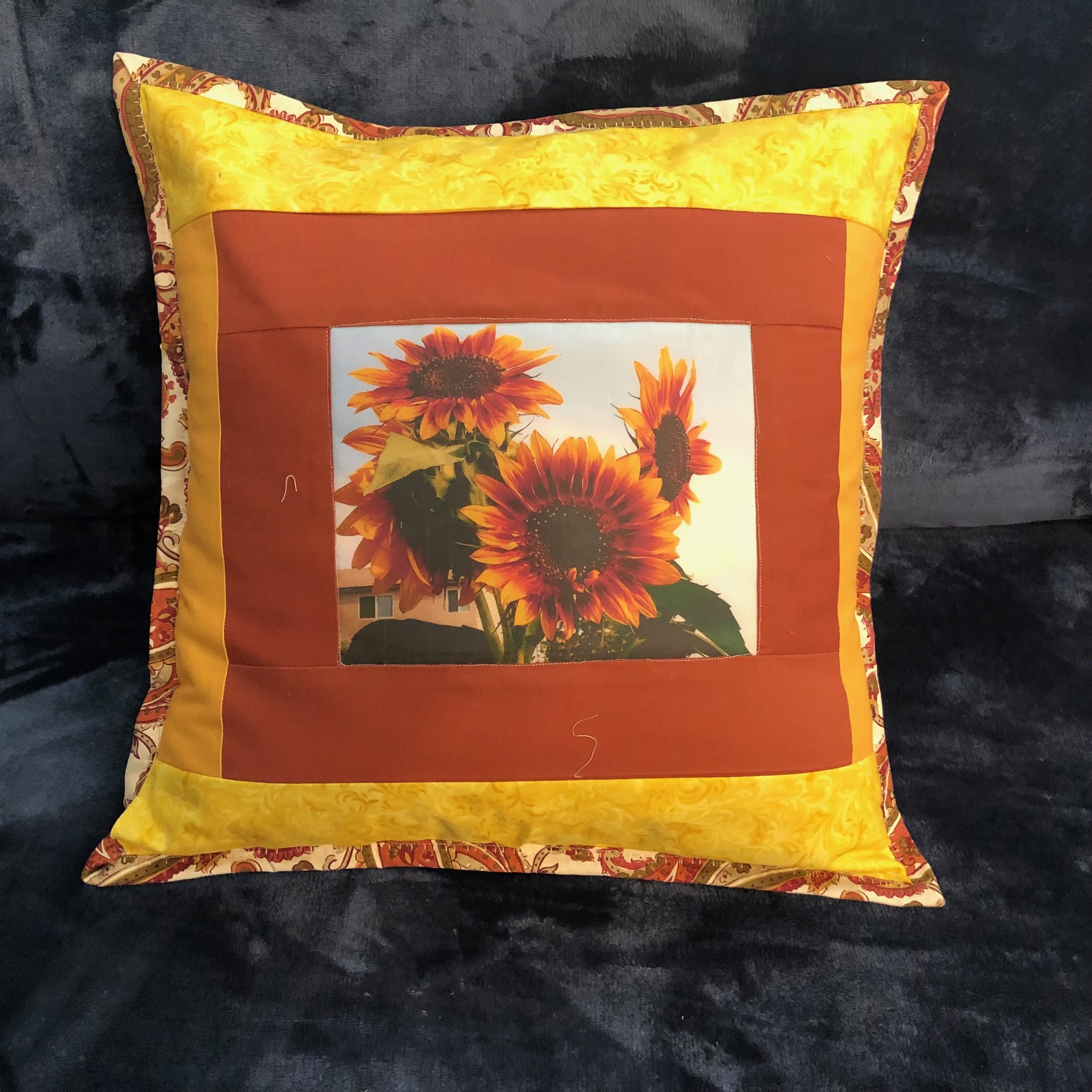 Personalized Pillow with Custom Picture